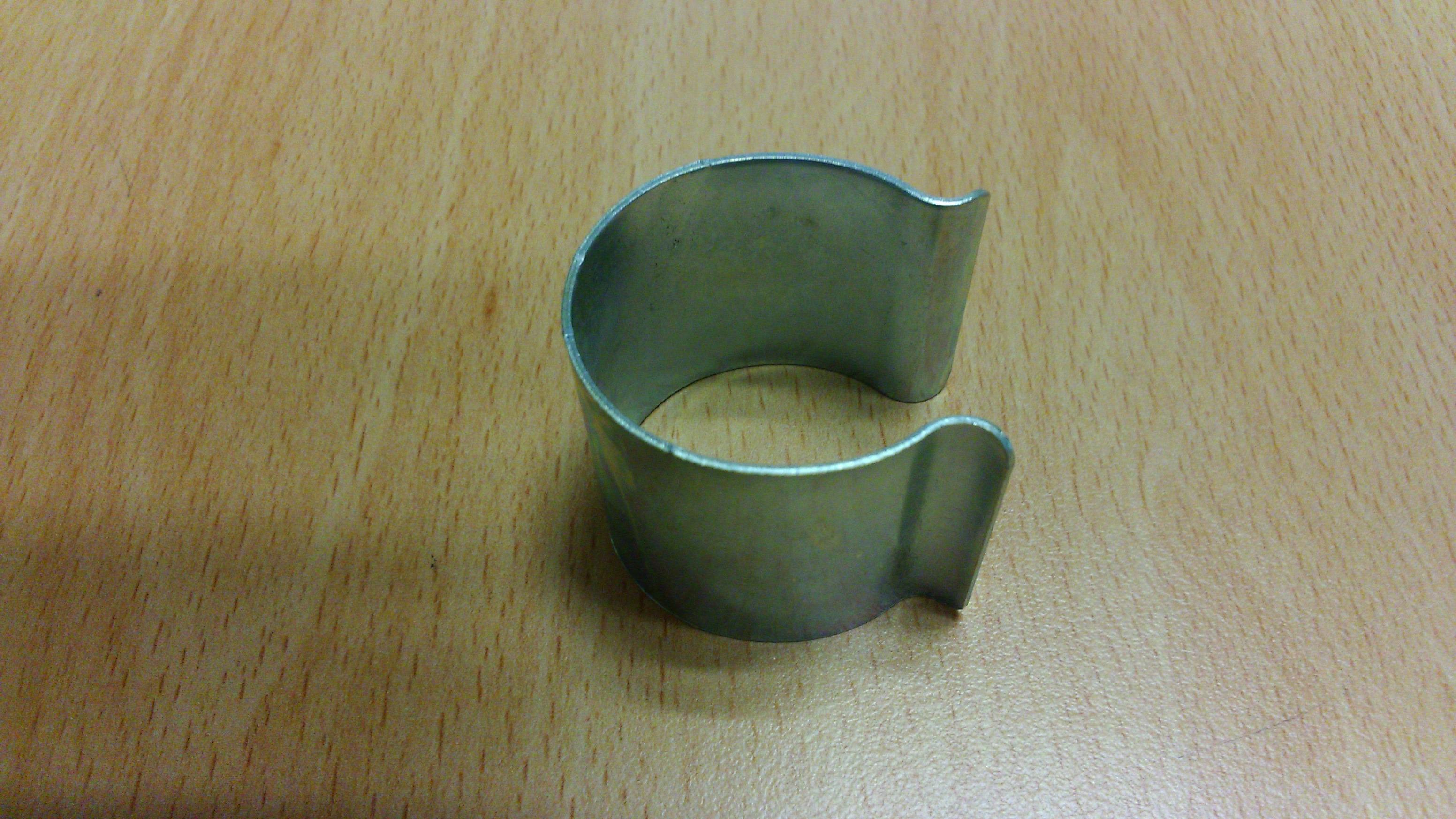 Lot de 20 clips en diam tre 30mm pour serres tunnels de for Bache plastique pour serre de jardin