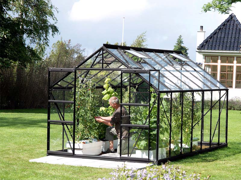 serre en verre uranus serre de jardin en verre et. Black Bedroom Furniture Sets. Home Design Ideas