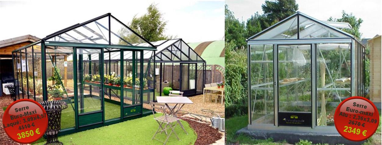 Serres tunnels de jardin pour particuliers et professionnels sur ...
